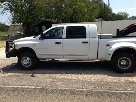 automobile air conditioning service 2006 dodge ram 3500 parking system sell used 2006 dodge 3500 4x4 diesel laramie mega cab less than 15000 miles on rebuild in