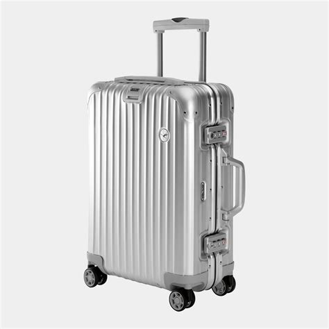 trolley cabin rimowa lufthansa alu collection multiwheel 174 cabin trolley