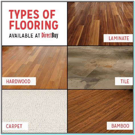Different Type Of Flooring Materials by Types Of Flooring Materials You Need To And