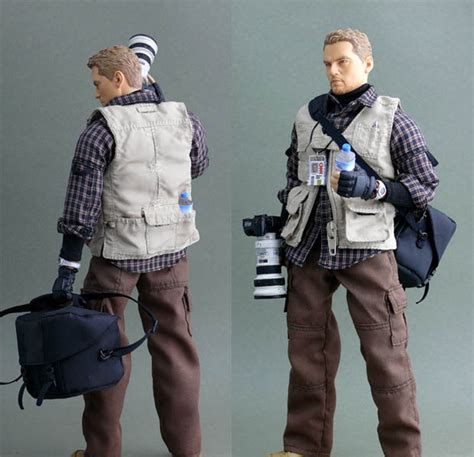 Zytoys 1 6 Figure Toys Digital Slr Kit Zy16 20 war journalist a 1 6 scale figure of a conflict
