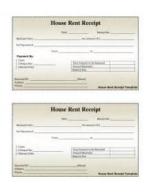 Free Rent Receipts Templates Free House Rental Invoice House Rent Receipt Template