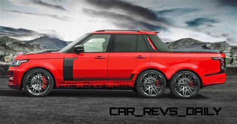 range rover truck conversion startech range rover 6x6 pickup