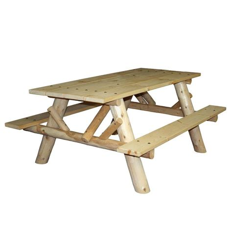 6 ft picnic table 6 ft patio picnic table with attached benches cfu232