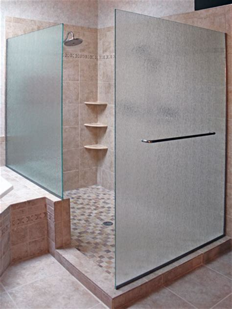 Glass Shower Doors And Walls Sleek And Modern Look With Shower Walls Bath Decors