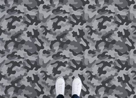 camo pattern vinyl camo atrafloor
