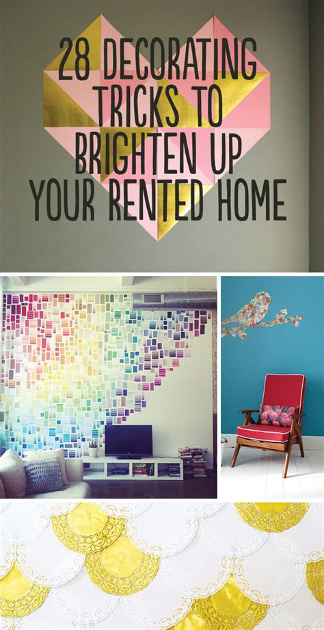 how to decorate a rental home without painting 28 decorating tricks to brighten up your rented home