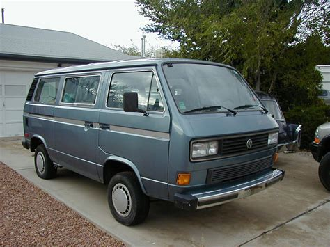 1987 Volkswagen Vanagon Information And Photos Momentcar