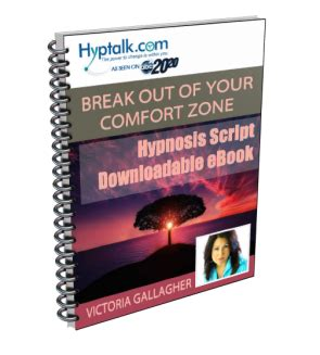 break out of your comfort zone hypnosis scripts