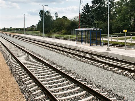 rail section first section of rail baltica inaugurated railway gazette