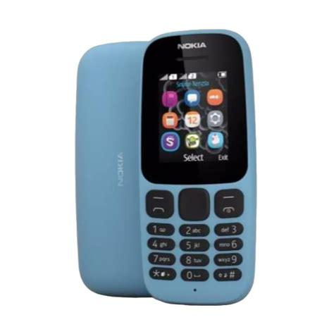 Hp Nokia 105 Single Sim jual nokia 105 2017 handphone dual sim harga kualitas terjamin blibli