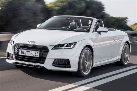 Audi Tt Cabrio by Used 2016 Audi Tt Convertible Pricing For Sale Edmunds