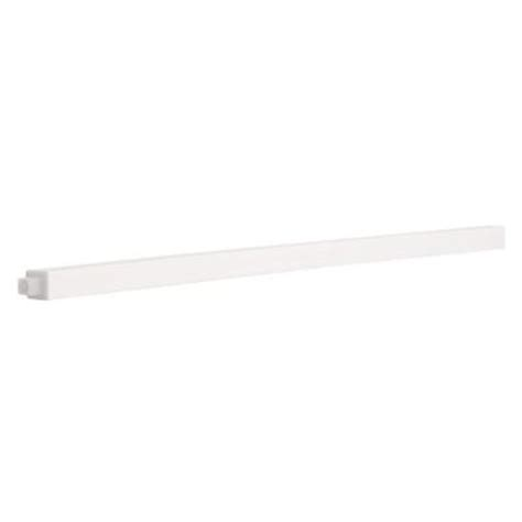 bathroom towel bar replacement 24 in replacement towel bar in white 662308 the home depot