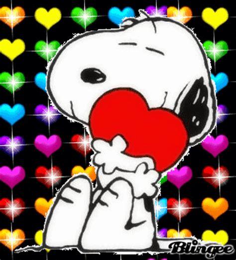 imagenes de amor y amistad snoopy snoopy fotograf 237 a 105094797 blingee com