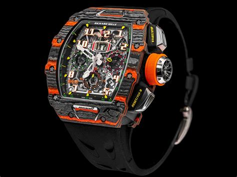 rm   mclaren automatic flyback chronograph