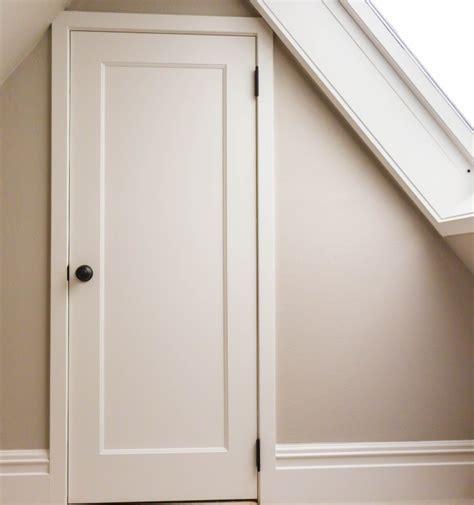 Tru Stile Doors trustile doors installed on a rainy day