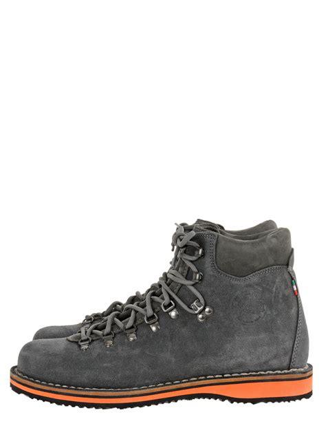 diemme vesuvio suede hiking boots in gray for grey