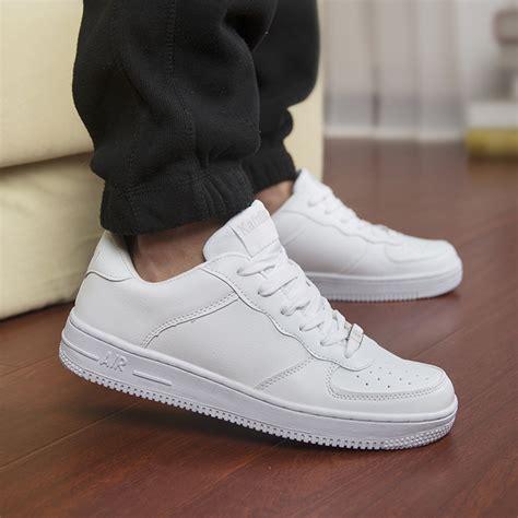 Sepatu Forchr High Mens popular white tennis shoes buy cheap white tennis shoes