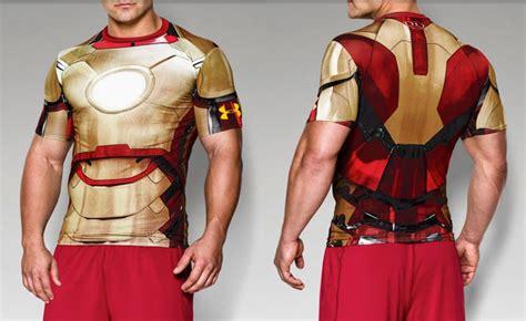 Kaos Armour Ironman Alter Ego Ironman armour iron compression shirt