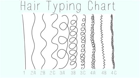 Hair Typing Chart by Hair Matters Hair Growth Abc S