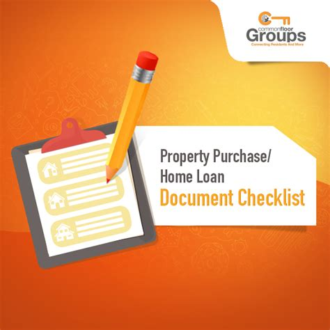 checklist for housing loan check for these documents while you buy a home or opt for a home loan commonfloor