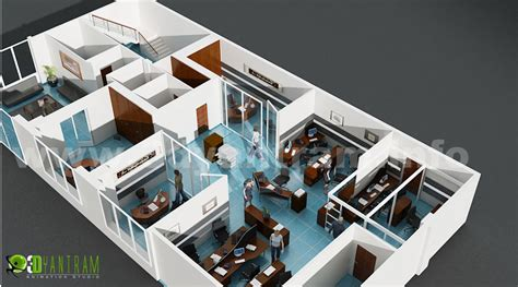 3d office floor plan 3d floor plan design interactive 3d floor plan yantram studio