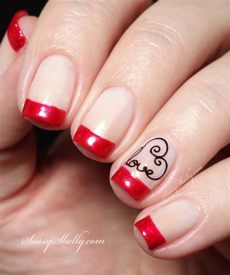 pictures of nail designs for valentines day adorable valentines