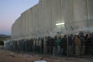 big wall israeli security barrier occupation checkpoint photos