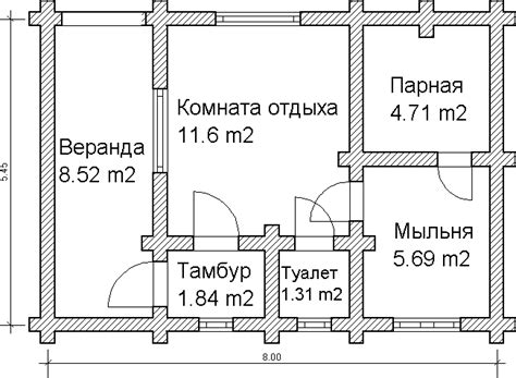 russian house plans custom log house sauna or russian banya project floor plan from a custom log 5x8