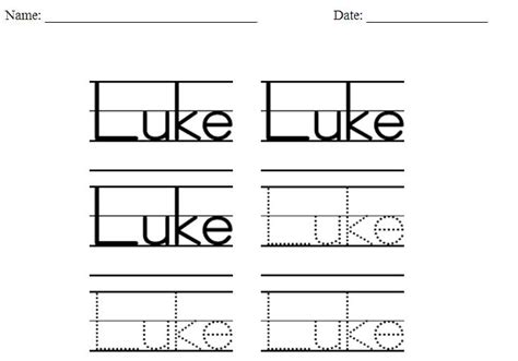 writing name template homeschool parent handwriting practice worksheet