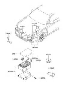 91259 2c190 genuine hyundai wiring assy engine