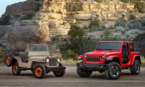 vintage jeep meet the 2018 jeep wrangler