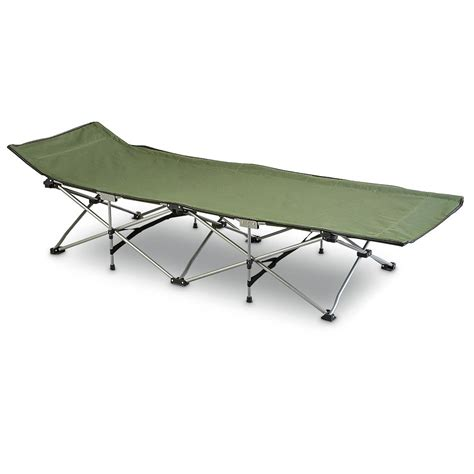 folding cot bed mac sports 174 instant folding cot olive drab 200273 cots at sportsman s guide