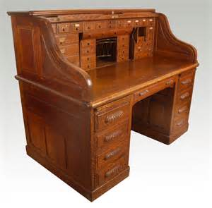 wooden roll top desk oak roll top desk antiques atlas