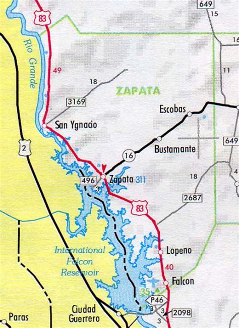 zapata texas map zapata county map texas texas hotels motels vacation rentals places to visit in texas