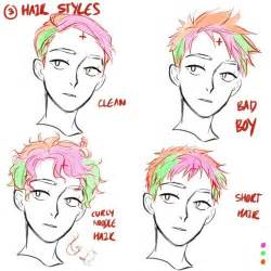 drawings of 1950 boy s hairstyles 1000 ideas about anime hairstyles male on pinterest