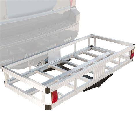Aluminum Cargo Rack by Hitch Mounted Aluminum Cargo Carrier 500 Lb Capacity Discount Rs