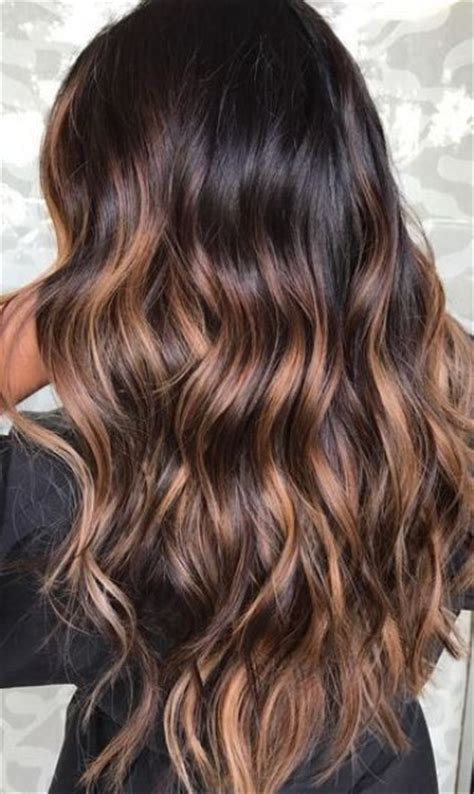 chestnut brown hair color for middle age women 21 most popular balayage ideas for brunettes styleoholic