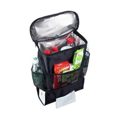 Auto Seat Organizer Tahan Suhu Panas Dingin Cooler Bag Mobil Cars Rack jual adamsbell car seat organizer rak gantungan jok mobil hitam harga kualitas
