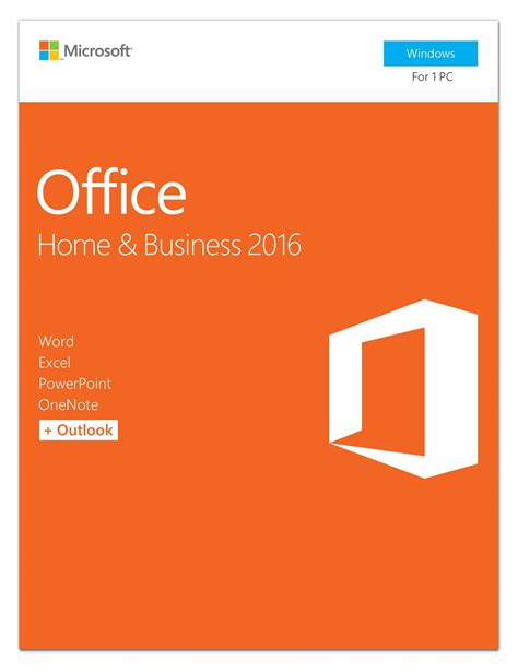 office home and business 2016 microsoft office home and business 2016 pc key card