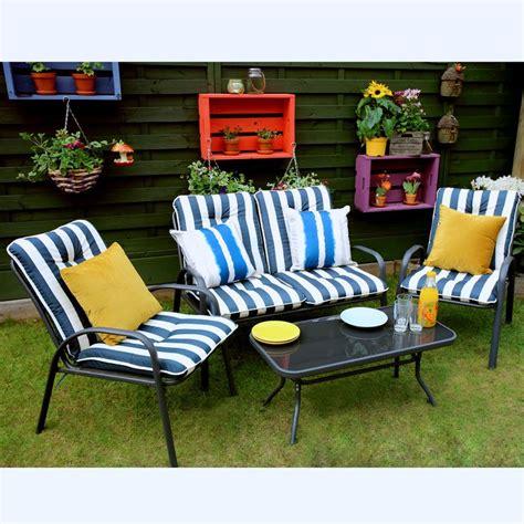 buy patio set 4 patio set garden furniture marbury buy at