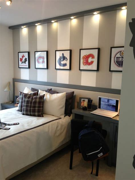 modern teen boys room  sport themes homemydesign