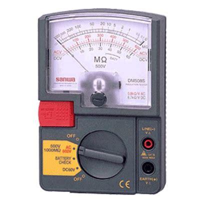 Sanwa Dm1008s Analog Insulation Resistance Tester Dm 10 Murah 세원계측기에 오신것을 환영합니다