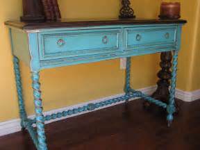 Turquoise Console Table Turquoise Accent Table