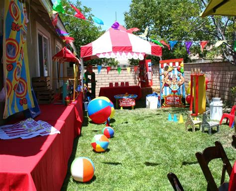 carnival theme party 50th birthday party ideas circus carnival birthday party ideas photo 22 of 22