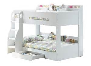 bunk beds pictures flair flick wooden bunk bed white