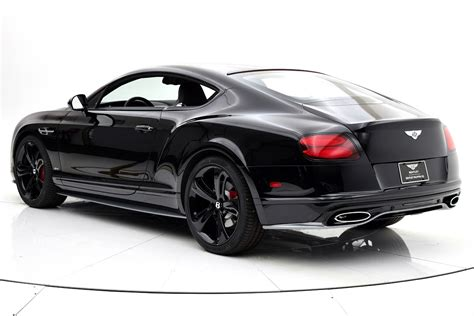 bentley black 2017 bentley continental gt speed black edition