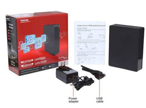 Toshiba Canvio Desk 3tb by Toshiba Canvio Desk 3tb Usb 3 0 Desktop External Drive Hdwc130xk3j1 Black Newegg