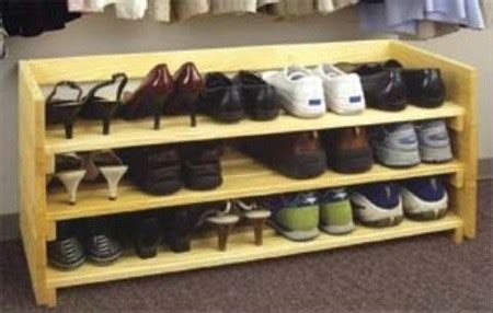 plans woodworking projects shoe rack  wood