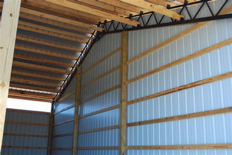 Diy House Plans by Open Shelter And Fully Enclosed Metal Pole Barns Smith Built