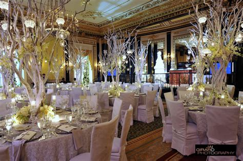 theme wedding reception decor winter wedding theme